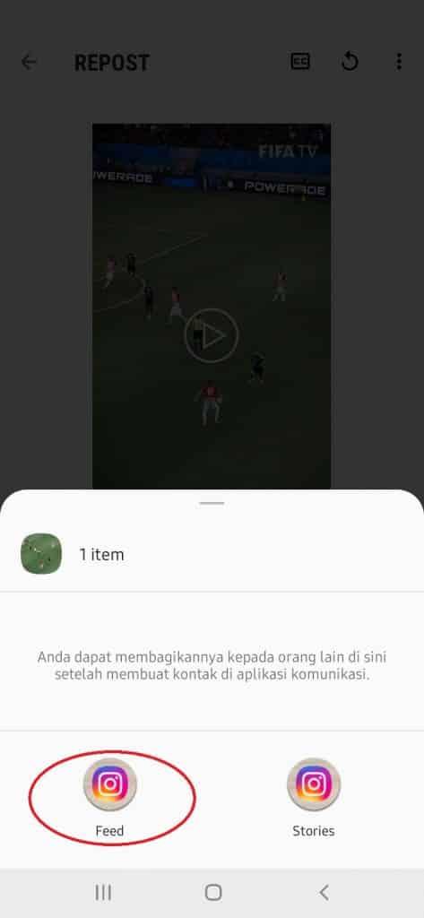 Cara Mudah Repost Video Instagram Jadi Feed dan Instastory
