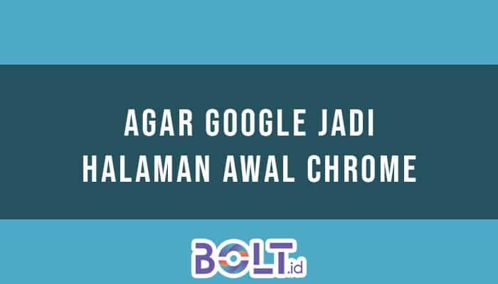 Halaman Awal Chrome