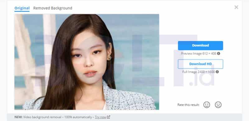 Cara Menghapus Background Foto Online Dengan Mudah
