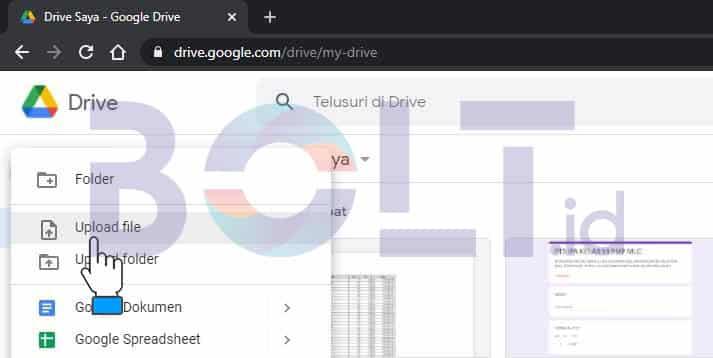 upload pdf google drive
