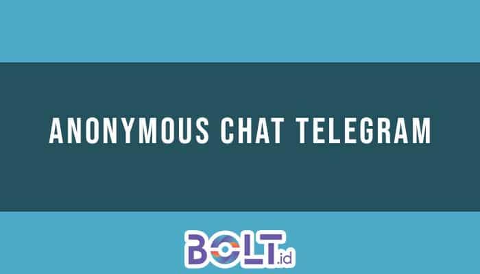 anonymous chat telegram