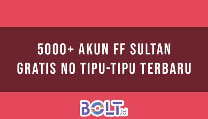Akun FF Sultan Gratis