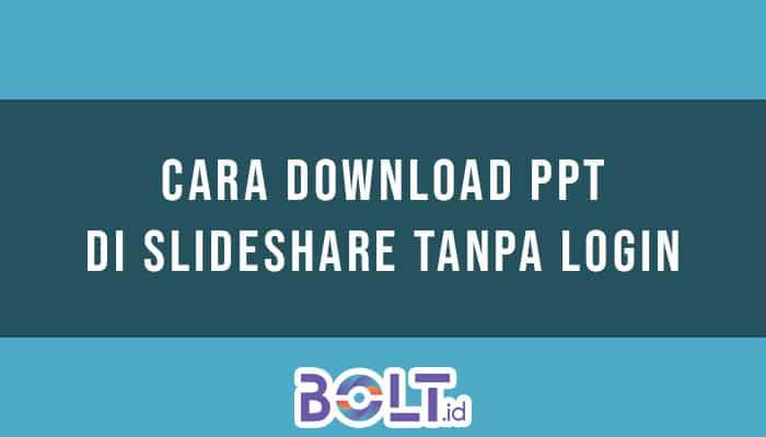 Download PPT di Slideshare